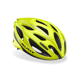Rudy Project Zumy Cykelhjelm, yellow fluo shiny